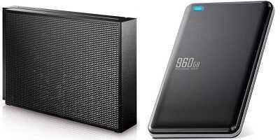 HDDとSSDのサンプル画像