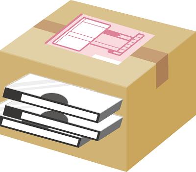 ビデオテープのパッキング